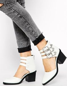 WANT/NEED  Enlarge ASOS RAGAN Two Part Ankle Boots