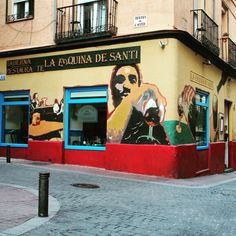 Barrio de Chueca in Madrid, Madrid