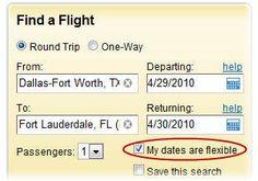 Flexible Calendar Flight Search – Find Cheap Flights Fast