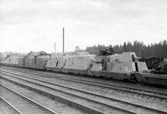 German armoured train Panzerzug BP42 eastern front