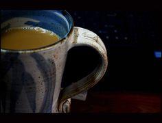 My jumbo mug from Auroville, Pondicherry Pondicherry, Ginger Tea, Chai, Mugs, Tumblers, Mug, Cups