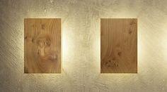 Wandleuchten aus Holz - modern und einzigartig. Einfach uniic!