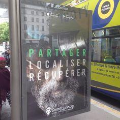 À #Paris aussi on se tape l'affiche #pub #communication #Street #ecology #picoftheday #pictureoftheday