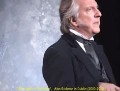 "2010-2011 -- Alan Rickman in the play ""John Gabriel Borkman."""