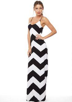 1414a6641197e Audrey Chevron Stripe Maxi Extended Length - View All Tall Shop - Tall Shop  - Alloy Apparel