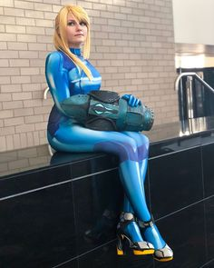 I'll be slowly posting all my cosplay new cosplay pics from Salt Lake FanX, including a bunch for Samus! The con was so much fun but man…