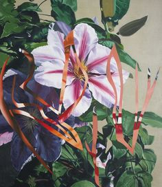 James Rosenquist (American, b. 1933), Untitled, 1990. Oil on canvas mounted on panel