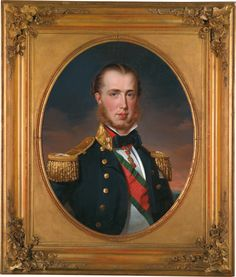 Franz Xaver Winterhalter - Maximilian I (1832-1867) was the only monarch of the Second Mexican Empire. After a distinguished career in the Austrian Navy, he was proclaimed Emperor of Mexico 1864, with the backing of Napoleon III of France & a group of Mexican monarchists. Many foreign governments, including that of the U.S., refused to recognize his administration. This helped to ensure the success of republican forces led by Benito Juárez, & Maximilian was captured & executed in 1867.