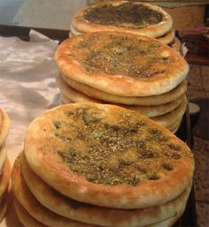 Zaatar is one of my favourite herbal mixes. We are lucky to have a woman who grew up eating it and creates it for us to buy at the local farmers market. I've tried making it, but her mixture is much tastier than mine.