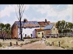 Easy pen and wash with Alan Owen - YouTube