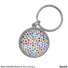 Many Colorful Circles