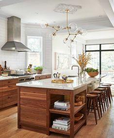 deko tipps lampe aspirator kücheninsel stühle ofe pflanzen waschbecken fenster