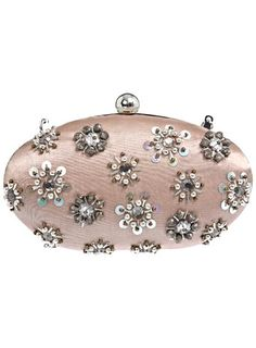 Embellished Oval Clutch - Accessories  - Sale & Offers
