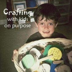 Crafting with Kids on Purpose- ideas for using kids artwork to bless others