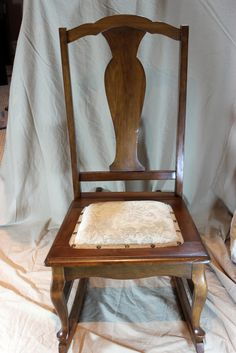 Painted Antique Sewing Rocker My Furniture Portfolio
