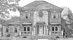 Eplans Country House Plan - Four Bedroom Country - 2946 Square Feet and 4 Bedrooms from Eplans - House Plan Code HWEPL72389