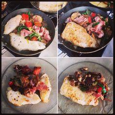 Gourmetten op Tweede Paasdag. Lekker vis, panga en tilapia...
