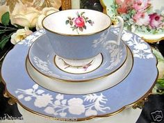 Spode teacup trio...