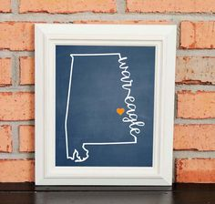 College Pride - Auburn Artwork - War Eagle - Auburn University - Orange and Navy - Man Cave Artwork - College Decor by LibertyAndLilacPaper on Etsy https://www.etsy.com/listing/241562717/college-pride-auburn-artwork-war-eagle