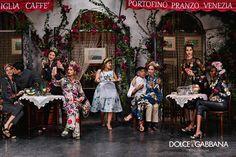 theblackbeauties. — Dolce & Gabbana S/S 2016 Leila Nda
