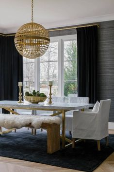 Classic Feels Fresh in This Nashville Home by JL Design: dining room