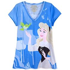 ''The Art of the Disney Princess'' Sleeping Beauty Tee at Disney Store -- This is kind of expensive, but I LOVE it.
