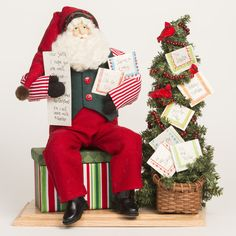 Old St. Nick Letters To Santa | VIETRI