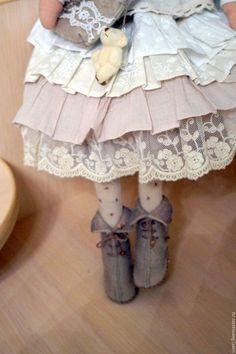 Куклы Тильды ручной работы. Заказать Кукла тильда Дашенька. Куимова Вера. Ярмарка Мастеров. Куклы и игрушки, бохо, флис