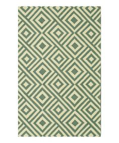 Take a look at this Slate & Ivory Venice Beach Indoor/Outdoor Rug by Loloi Rugs on #zulily today!