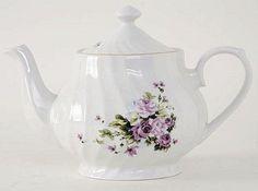 Lucinda Porcelain Teapot #QDT