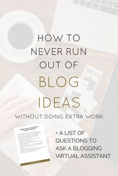 You probably started blogging for fun. It's so cool to have a following of   readers who are interacting with your world, through your blog. But then   you start getting more and more followers. You don't want to take time off   of blogging because you love it so much, but you're starting to run out