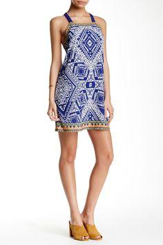 Bandana Print Tank Dress