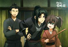 Kondo, Toshizo, Souji (so young!)