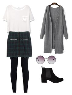 """Girl meets world"" by lilmymy4 ❤ liked on Polyvore featuring NIKE, MANGO, Madewell and Monki"