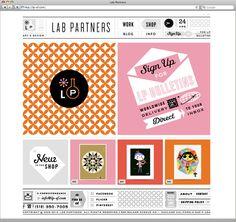 Website / Lab Partners elements of retro web design Jamie Oliver's 'Fifteen' website design with parrallax Design Ios, Email Design, Interface Design, Blog Design, Website Layout, Web Layout, Layout Design, Website Ideas, Nice Website