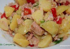 Photo Spanish Kitchen, Mediterranean Recipes, Empanadas, Bon Appetit, Tapas, Potato Salad, Food And Drink, Healthy Recipes, Delicious Recipes