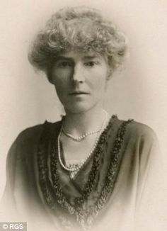 Gertrude Margaret Lowthian Bell, CBE (1868–1926) an English writer and explorer who travelled extensively in Syria and Asia.