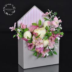 """119 отметок «Нравится», 2 комментариев — """"Greendeco"""" - Online Shop (@pracowniagreendeco) в Instagram: «Listy kwiatami pisane - flowerbox ❤ Zapraszamy na www.greendeco.org #flowersboxes #flowerbox…»"""