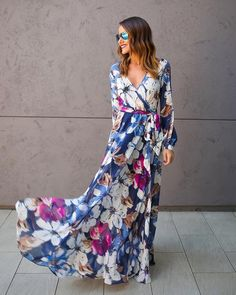 Rhythm Of Love Maxi Dress