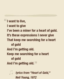 Heart of Gold. Neil Young