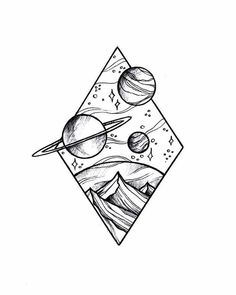 Doodle art 738731145115371515 - Source by Space Drawings, Cool Art Drawings, Pencil Art Drawings, Doodle Drawings, Art Drawings Sketches, Tattoo Sketches, Tattoo Drawings, Easy Drawings, Drawing Ideas