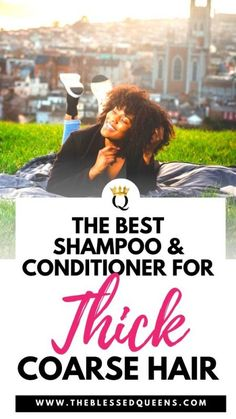 Best Shampoo And Conditioner For Thick Coarse Hair - The Blessed Queens Square Face Hairstyles, Quiff Hairstyles, 1950s Hairstyles, Korean Hairstyles, Dreadlock Hairstyles, Protective Hairstyles, Celebrity Hairstyles, Wedding Hairstyles, Long Natural Curls
