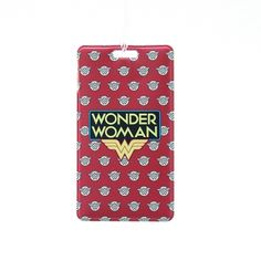 Wonder woman name tag