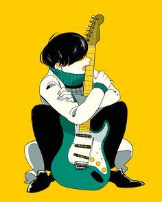 Music Drawings, Cool Drawings, Anime Music, Anime Art, Character Illustration, Illustration Art, Character Art, Character Design, Otaku