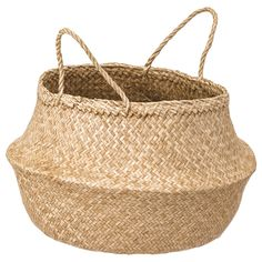 The handwoven rattan gives each basket a distinct and natural expression. This stable basket has many potential uses and is dimensioned for KALLAX shelving, giving it a unique look and function. Kallax, Small Storage, Storage Boxes, Storage Containers, Ikea Storage, Small Shelves, Storage Hacks, Toy Storage, Malm