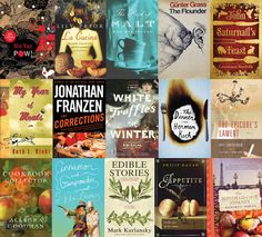 50 Essential Novels for Foodies - Books and food--what could be better.