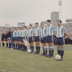 The Argentina National football team line up before their. Argentina Football Team, Argentina Team, Argentina National Team, Football Is Life, School Football, Football Jerseys, Football Soccer, Fifa, History Of Soccer