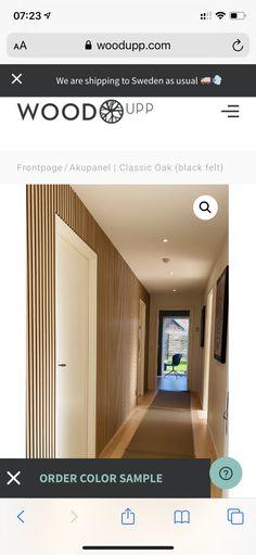 Black Felt, Furniture Decor, New Homes, Wood, Ideas, Entrance Hall, Black Fedora, Woodwind Instrument, Timber Wood