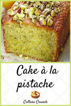 Pistachio Dessert, Pistachio Recipes, Gateau Cake, Cake Recipes, Dessert Recipes, Cake Factory, Loaf Cake, Pound Cake, Happy Foods