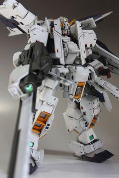 GUNDAM GUY: HGUC 1/144 RX-121-1 + FFX29A Hazel-Rah - Custom Build